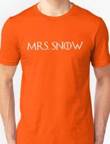 Mrs. Snow (white) Unisex T-Shirt