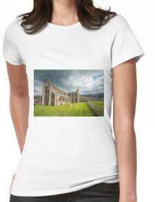 Tintern Abbey Wye Valley Womens Fitted T-Shirt