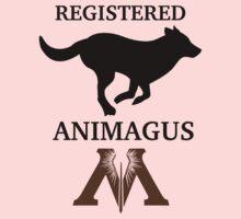 Registered Animagus (Dog) Kids Tee