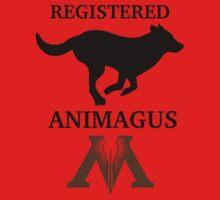 Registered Animagus (Dog) One Piece - Long Sleeve