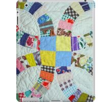 Colorful quilt pattern iPad Case/Skin
