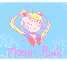 Moon Punk Photographic Print