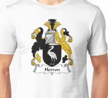Herron Coat of Arms / Herron Family Crest Unisex T-Shirt