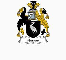 Herron Coat of Arms / Herron Family Crest Unisex T-Shirt