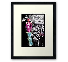 The Chairman's Paisley Tie Framed Print