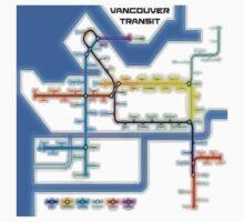 Vancouver Transit Network Kids Tee