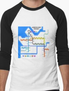 Vancouver Transit Network Men's Baseball ¾ T-Shirt
