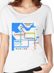 Vancouver Transit Network Women's Relaxed Fit T-Shirt