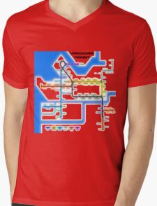 Vancouver Transit Network Mens V-Neck T-Shirt