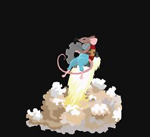 Mouse with Jetpack Unisex T-Shirt