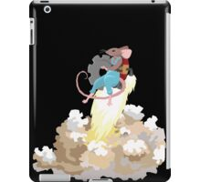 Mouse with Jetpack iPad Case/Skin