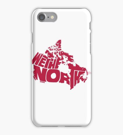 We The North (Red) iPhone Case/Skin