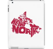 We The North (Red) iPad Case/Skin