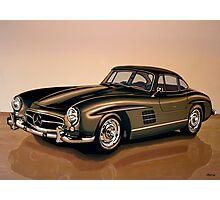 Mercedes Benz 300 SL Painting Photographic Print