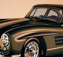Mercedes Benz 300 SL Painting Sticker