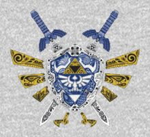 zelda symbol One Piece - Long Sleeve