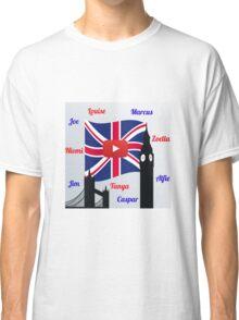 British Youtubers Classic T-Shirt