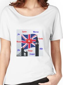 British Youtubers Women's Relaxed Fit T-Shirt