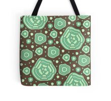 Mint and chocolate Tote Bag