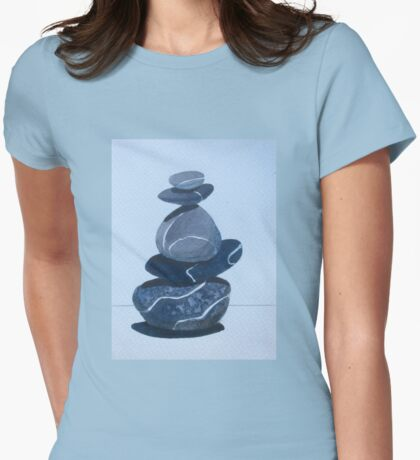 Neatly Balanced Womens Fitted T-Shirt