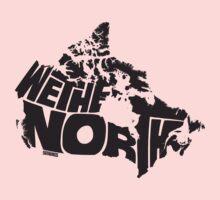 We The North (Black) Kids Tee