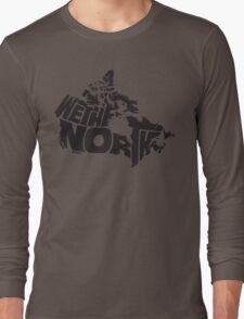We The North (Black) Long Sleeve T-Shirt
