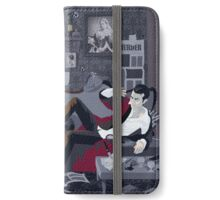 Holmes' Natural Habitat OR Some Light on a Black Mood iPhone Wallet/Case/Skin