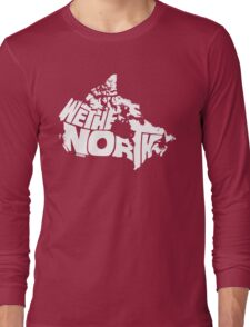 We The North (White) Long Sleeve T-Shirt