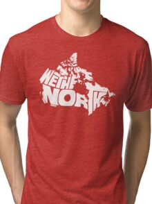 We The North (White) Tri-blend T-Shirt