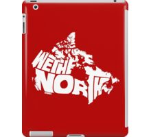 We The North (White) iPad Case/Skin