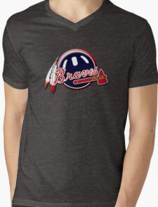 atalanta braves Mens V-Neck T-Shirt