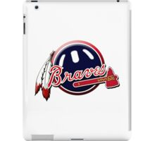 atalanta braves iPad Case/Skin