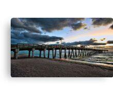 Sharkey's Pier -- Venice,  Florida Canvas Print