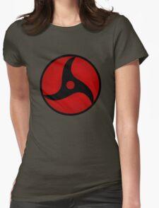 Mangekyou Sharingan Itachi Womens Fitted T-Shirt