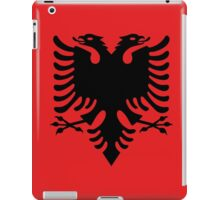 Albanian national flag in authentic color and scale. iPad Case/Skin