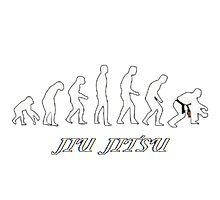 Jiu jitsu evolution Photographic Print