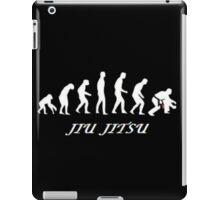 Jiu jitsu evolution iPad Case/Skin