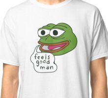 "Pepe The Frog ""Feels good man"" Classic T-Shirt"