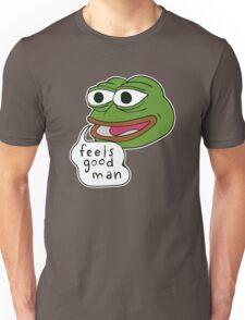 "Pepe The Frog ""Feels good man"" Unisex T-Shirt"