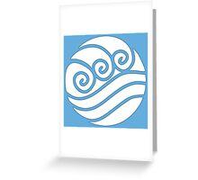 Waterbender Greeting Card