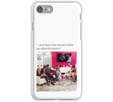 Malec Text Post iPhone Case/Skin