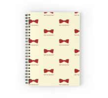 Doctor Who- Bow Ties Are Cool! Spiral Notebook