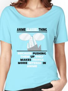 The Anime Glasses Thing Women's Relaxed Fit T-Shirt
