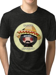 ¿Sasque? Tri-blend T-Shirt