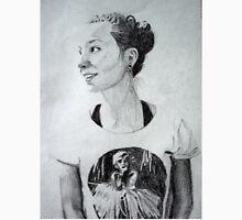 Beautiful Girl With Marilyn Monroe T-Shirt Unisex T-Shirt