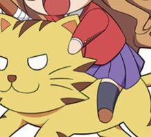 Tagia on Tiger Sticker