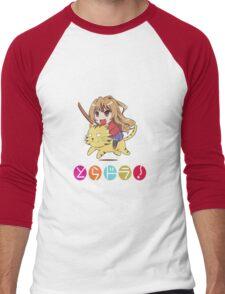 Tagia on Tiger Men's Baseball ¾ T-Shirt