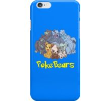 PokeBears iPhone Case/Skin