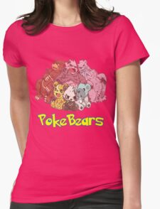 PokeBears Womens Fitted T-Shirt
