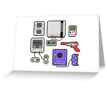 Vintage consoles Greeting Card